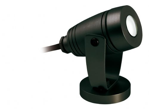 Firstlight 6403BK Black Waterproof LED Wall & Spike Spot